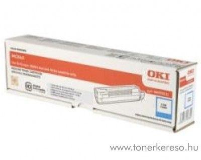 Oki MC861C eredeti cyan toner 44059255 Oki MC861 lézernyomtatóhoz