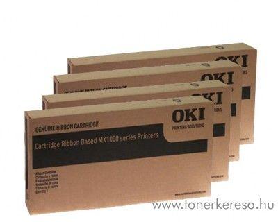 Oki MX-CRB eredeti nagykap. black 4db-os szalag pack 09005660  OKI Microline MX-8100 mátrixnyomtatóhoz