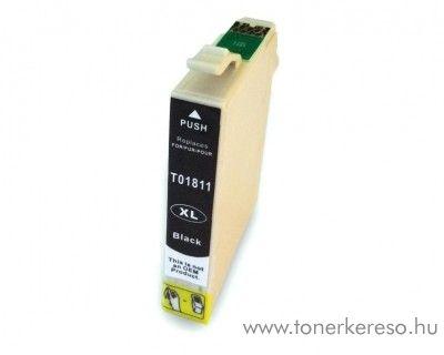 Epson T1811 utángyártott 18XL fekete tintapatron RBT1811 Epson Expression Home XP-405WH tintasugaras nyomtatóhoz