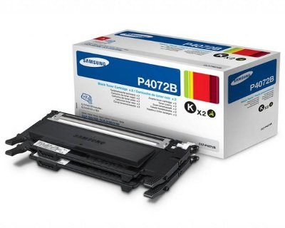 Samsung P4072B - CLP-320/325 dupla fekete toner Samsung CLX-3185 lézernyomtatóhoz