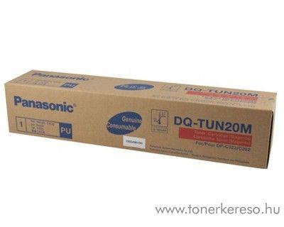 Panasonic DP-C262/322 eredeti magenta toner DQ-TUN20M