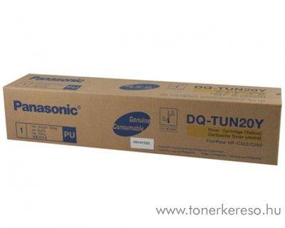 Panasonic DP-C262/322 eredeti yellow toner DQ-TUN20Y