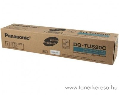Panasonic DP-C264/354 eredeti cyan toner DQ-TUS20C