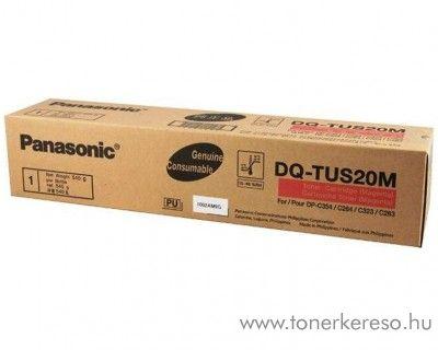 Panasonic DP-C264/354 eredeti magenta toner DQ-TUS20M