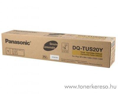 Panasonic DP-C264/354 eredeti yellow toner DQ-TUS20Y