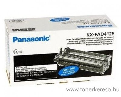 Panasonic DP-MB2000 eredeti black drum KX-FAD412E