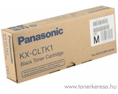 Panasonic KX-CL500 eredeti black toner KX-CLTK1