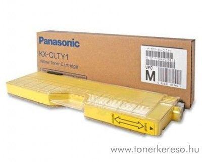 Panasonic KX-CL500 eredeti yellow toner KX-CLTY1
