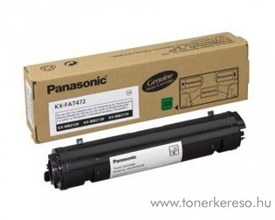 Panasonic KX-MB 2120/2130 eredeti black toner KX-FAT472