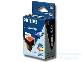 Philips PFA 534 Fax tintapatron színes (Pl. Philips MF-Jet 500/5 Philips MF-Jet 440 faxhoz