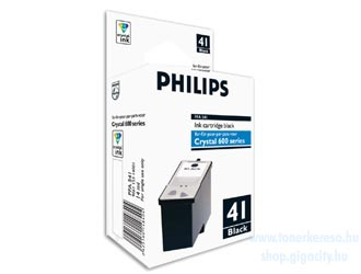 Philips PFA 541 Fax tintapatron (Pl. Philips Crystal 650 ..) Philips Crystal 680 faxhoz
