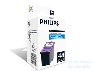 Philips PFA 544 Fax tintapatron színes (Pl. Philips Crystal 650 Philips Crystal 665 faxhoz