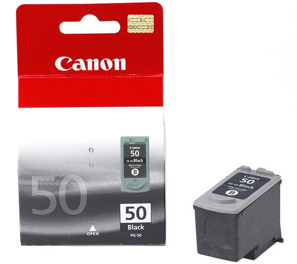 Canon PG 50 fekete tintapatron Canon PIXMA MP180 tintasugaras nyomtatóhoz