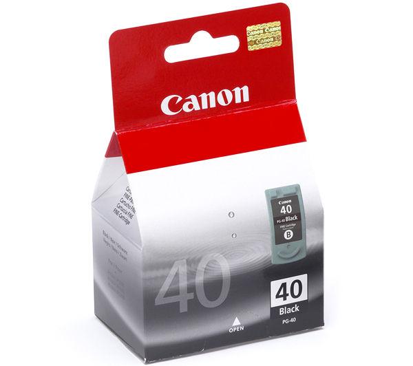 Canon PG 40 fekete tintapatron Canon PIXMA MP180 tintasugaras nyomtatóhoz