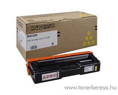 Ricoh Aficio SP C250DN/C250SF eredeti yellow toner 407546