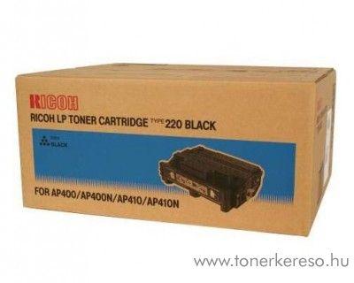 Ricoh AP400 (Type220) eredeti fekete black toner 400943