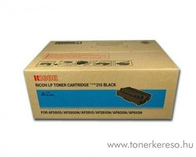 Ricoh AP600 (Type215) eredeti fekete black toner 400760