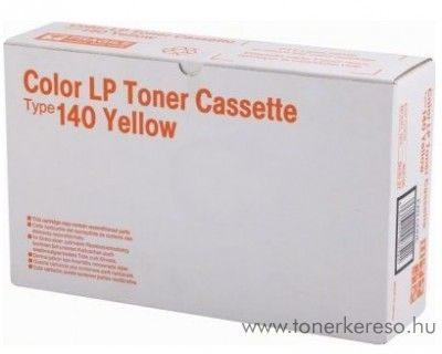 Ricoh CL1000N (Type140) eredeti yellow toner 402100