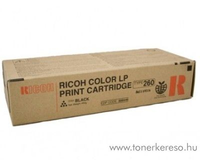 Ricoh CL7200/7300 (Type260) eredeti black toner 888446