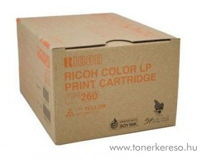 Ricoh CL7200/7300 (Type260) eredeti yellow toner 888447