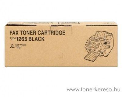 Ricoh FAX1120 (Type1265) eredeti fekete black toner 412638