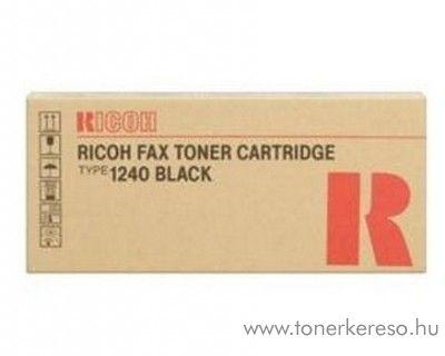 Ricoh FAX1400 (Type1240) eredeti fekete black toner 430278