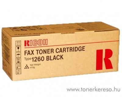 Ricoh FAX3310 (Type1260) eredeti fekete black toner 430351
