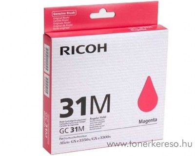 Ricoh GX3300/3350 (GC31M) eredeti magenta tintapatron 405690