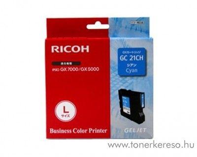 Ricoh GX5050/7000 (GC21CH) eredeti cyan tintapatron 405537