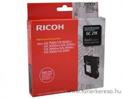 Ricoh GX5050/7000 (GC21K) eredeti black tintapatron 405532