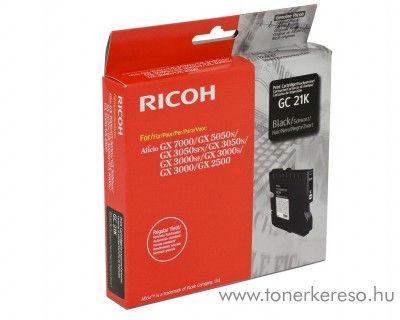 Ricoh GX5050/7000 (GC21KH) eredeti black tintapatron 405536
