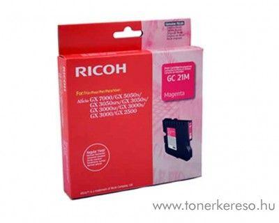 Ricoh GX5050/7000 (GC21M) eredeti magenta tintapatron 405534