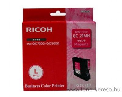 Ricoh GX5050/7000 (GC21MH) eredeti magenta tintapatron 405538