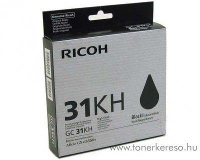 Ricoh GX5550 (GC31KH) eredeti black tintapatron 405701