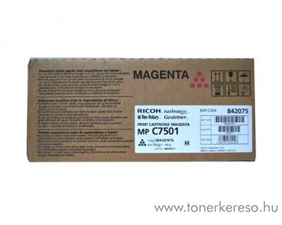 Ricoh MP C6501/7501 eredeti magenta toner 842075