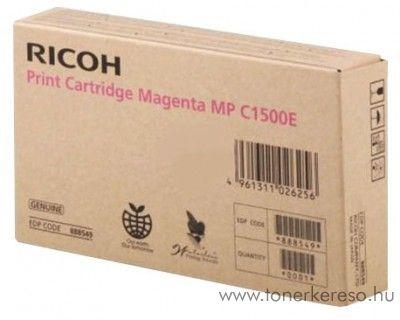 Ricoh MPC1500 eredeti magenta toner 888549