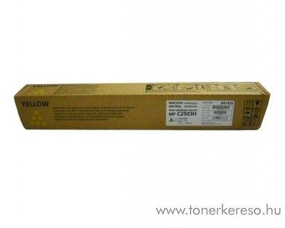 Ricoh MPC2003/2503 eredeti nagykap. yellow toner 841926
