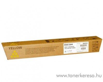 Ricoh MPC2500/3000E eredeti yellow toner 884947