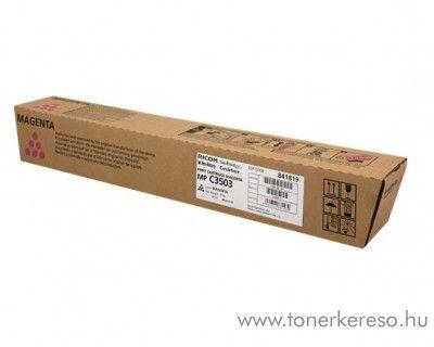 Ricoh MPC3003/C3503 eredeti magenta toner 841819