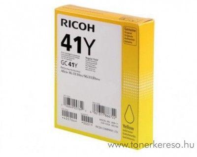 Ricoh SG3110 (GC41Y) eredeti yellow tintapatron 405764