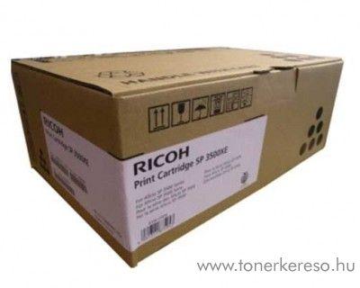 Ricoh SP 3500XE eredeti fekete black toner 406990