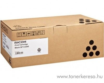 Ricoh SPC220N (Type220) eredeti black toner 406052
