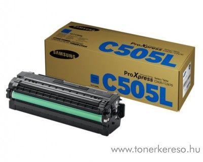 Samsung C2620DW/C2670FW eredeti cyan toner CLT-C505L Samsung SL-C2620DW lézernyomtatóhoz