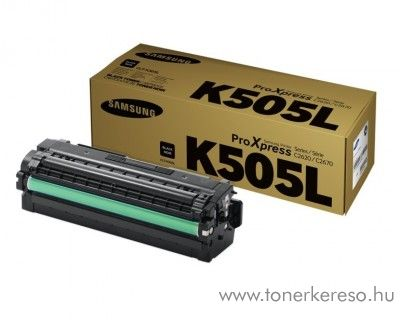 Samsung C2620DW/C2670FW eredeti black toner CLT-K505L Samsung ProXpress C2670FW lézernyomtatóhoz