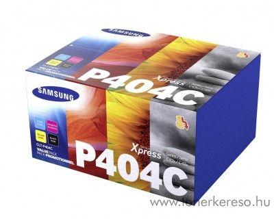 Samsung C430/C480 BKCMY eredeti toner csomag CLT-P404C