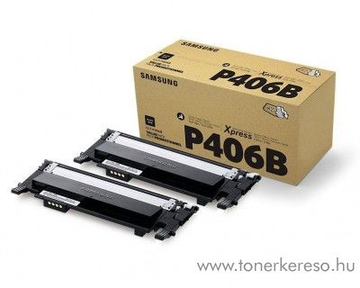 Samsung CLP-365 eredeti fekete dupla toner csomag  SU374A Samsung CLX-3307FW lézernyomtatóhoz