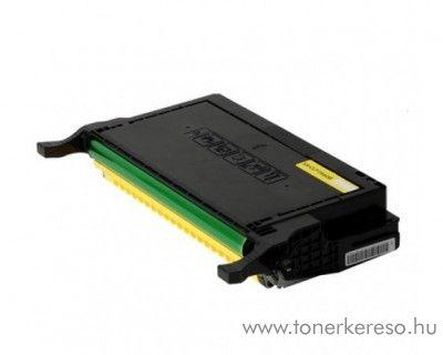 Samsung CLP-610/660ND utángyártott yellow toner GGSY660B Samsung CLP-6200FX lézernyomtatóhoz