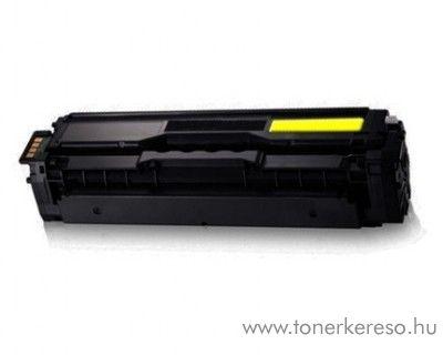 Samsung CLX-4195 utángyártott yellow toner OBSCLP504SY Samsung CLP-415N lézernyomtatóhoz