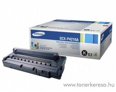 Samsung SCX4216 eredeti fekete dupla toner SCX-P4216A Samsung SCX-4116 lézernyomtatóhoz