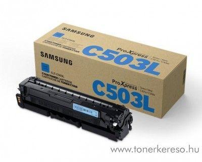 Samsung SL-C3010/C3060 eredeti cyan toner CLT-C503L Samsung ProXpress C3060FR lézernyomtatóhoz